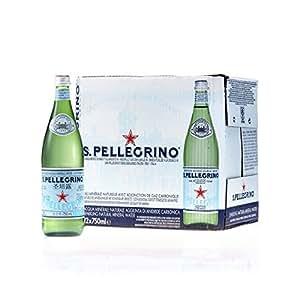 Sanpellegrino(サンペレグリノ) 炭酸入りナチュラルミネラルウォーター750ml×12本 [正規輸入品]