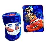 [ディズニー]Disney CARS Plush Throw #3/カーズ2 マイクロフリース 大判ブランケットNo.3