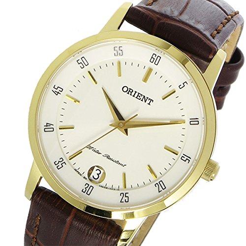 『オリエント ORIENT クオーツ レディース 腕時計 SUNG6003W0 ホワイト[逆輸入品]』のトップ画像