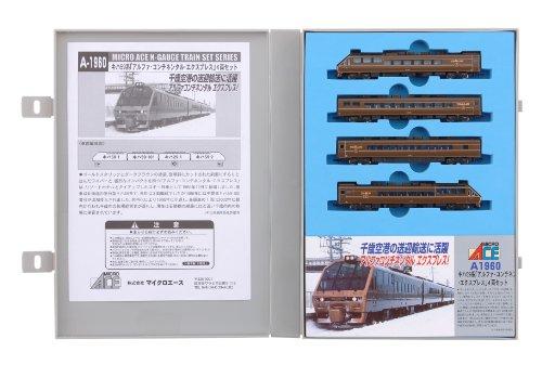 Nゲージ A1960 キハ59系「アルファ・コンチネンタル・エクスプレス」 4両セット
