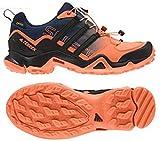 アディダス (adidas) ローカット 防水トレッキングシューズ 23.5cm(レディース) TERREX SWIFT R スウィフト GTX ゴアテックス 国内正規品 BB4637 イージーオレンジ