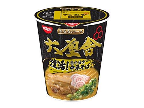 日清食品 有名店シリーズ 六厘舎 魚介豚骨中華そば 105g×12個