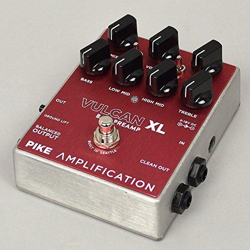 Pike Amplification VULCAN XL ベース・オーバードライヴ/プリアンプ【国内正規品】