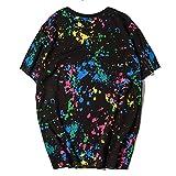 ステューシー stussy Tシャツ 半袖 メンズ レディース トップス tee 男女兼用 (XXL, BLACK) [並行輸入品]