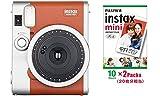 インスタントカメラ チェキ instax mini90 チェキ ネオクラシック ブラウン&フイルム20枚(2P)セット