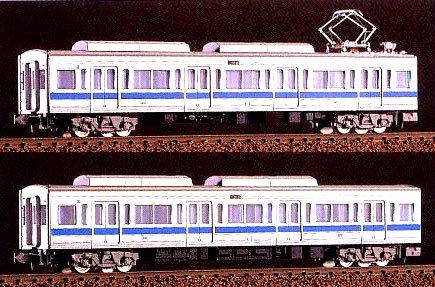 ■【グリーンマックス】(1002M)小田急 1000形 2輌中間増結セットGREENMAX 鉄道模型 Nゲージ