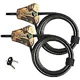 Master Lock Python Trail Camera Adjustable Camouflage Cable Locks 8418KA-2 CAMO