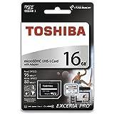 16GB TOSHIBA Toshiba microSDHC card EXERCIA PRO M401 UHS-I U3 corresponding R: 95MB / s W: 80MB / s overseas retail THN-M401S