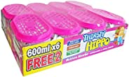 Thirsty Hippo Moisture Absorber, 600 ml (Pack of 8)