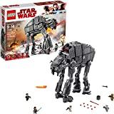 LEGO Star Wars First Order Heavy Assault Walker 75189建物キット( 1376Piece ) 6224296