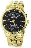 [オリエント] ORIENT 腕時計 自動巻き パーペチュアルカレンダー SEU0A002BH ブラック メンズ 海外モデル [逆輸入品]