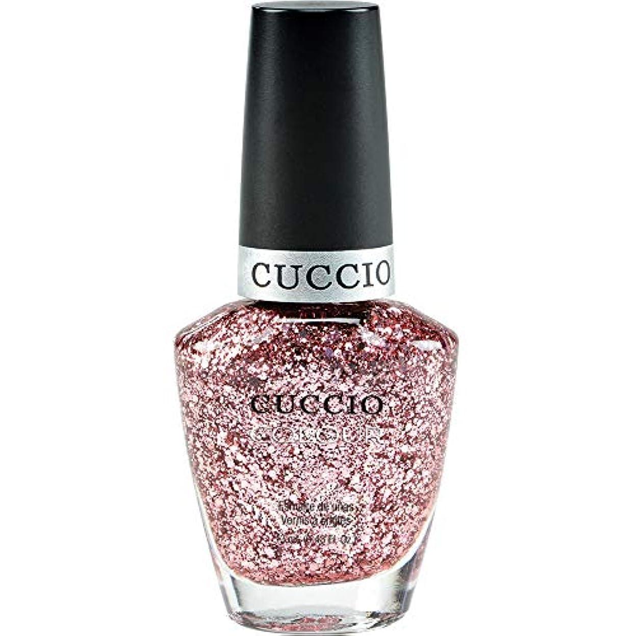 ヒール請願者薬剤師Cuccio Colour Gloss Lacquer - Fever of Love - 0.43oz / 13ml