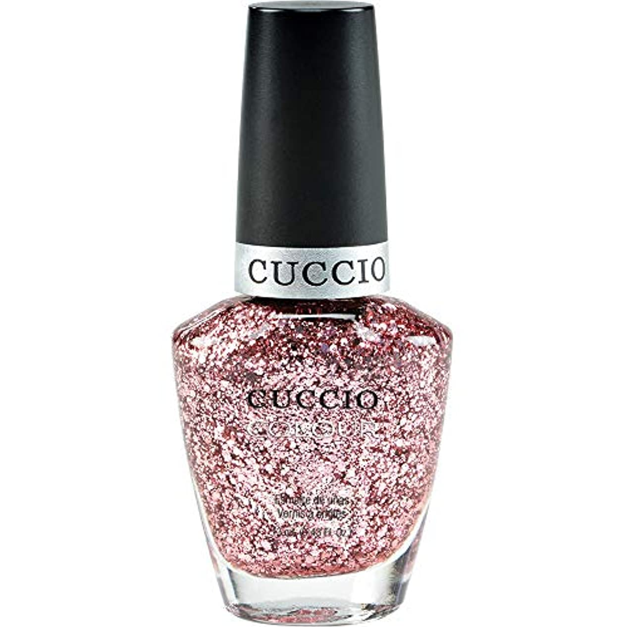 十分な実施する必要としているCuccio Colour Gloss Lacquer - Fever of Love - 0.43oz / 13ml