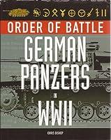 German Panzers in World War II (Order of Battle)