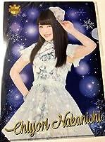 中西智代梨 AKB48 カフェ&ショップ Happy White Christmas 2015 クリアファイル