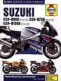 Suzuki GSX-R600 '01 to '03, GSX-R750 '00 to '03, GSX-R1000 '01-'02 (Haynes Service & Repair Manual)