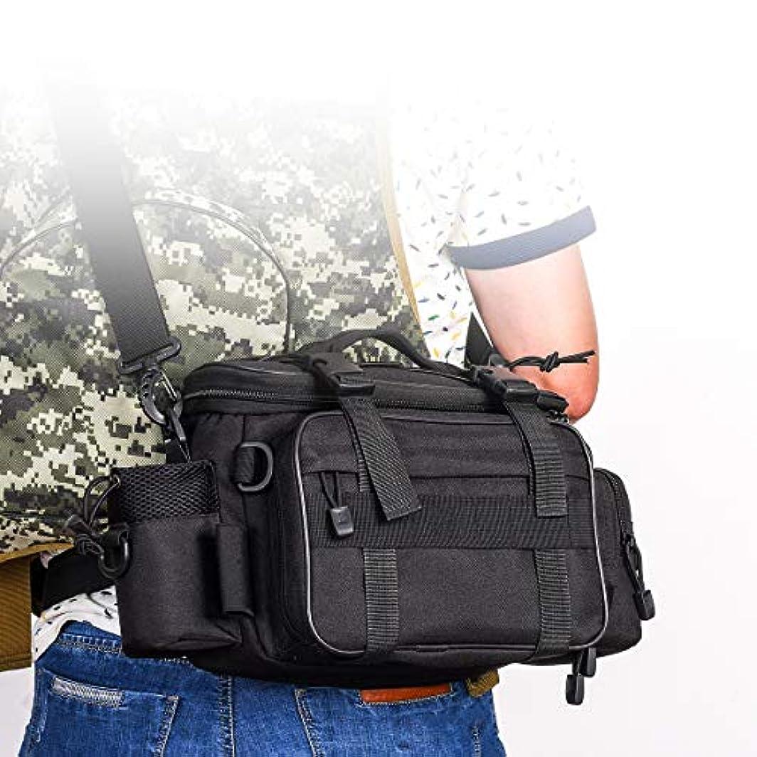 勇敢な定常表向きkakuma 釣りバッグ 多機能 フィッシングバッグ ポケット多い 軽量 防水 3WAY 釣り用 ヒップバッグ ウエストバッグ 大容量 ツール 収納 バッグ カメラ 自転車 登山 旅行用