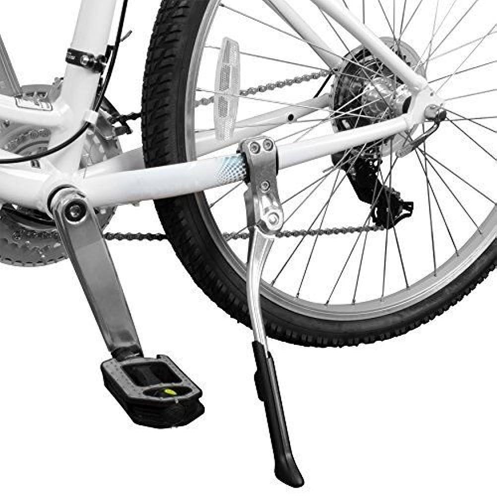 爆発物予報トレーダー自転車スタンド 調節可能 後部側 24-29インチ キックスタンド 合金 サイクリング用