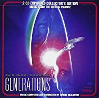 Star Trek: Generations Expanded Collectors Edition by Jerry Goldsmith