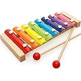 [ドリーマー] 【子供の演奏会】 木琴 おもちゃ 木製 アルミ製 子供 赤ちゃん 音楽/音階認知 リズム 打楽器 出産祝い お誕生日 シロホン 幼児 キッズ