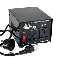 Goldsource 昇圧/降圧 変圧器 (コンバーター) ST500 - 変圧器 - AC 110/220V - 500W (並行輸入)