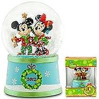 ミッキーマウス&ミニーマウス(2012年クリスマス) スノーグローブ ?ディズニー? ディズニーストア限定