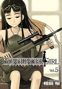 GUNSLINGER GIRL 5巻 表紙画像