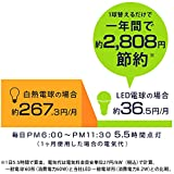 アイリスオーヤマ LED電球 口金直径26mm 60W形相当 電球色 広配光タイプ 2個セット 密閉器具対応 LDA8L-G-6T42P画像5