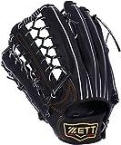 ZETT(ゼット) 硬式野球 プロステイタス グラブ (グローブ) 外野手用 ブラック(1900) 左投げ用 BPROG770