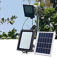 ソーラーパワー150 LEDレーダーモーションセンサー洪水光防水屋外暖かい白のセキュリティランプ