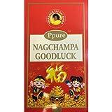 Ppure Nag Champa Goodluck PerfumeプレミアムMasala Incense Sticks 15グラム