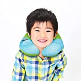 ネックピロー 子供用 BestMaxs U型 携帯枕 手動プレス式膨らませる 飛行機まくら 旅行便利グッズ プレゼント