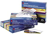 Rexel Waste Sacks Polypropylene Extra Strong 175L [for AS3000 Shredder] Ref 40095 [Pack of 100]