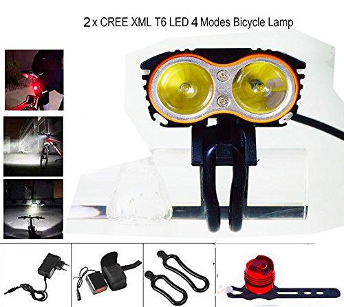 自転車ライト, Yafire 超高輝度自転車 LEDライト2...
