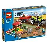 レゴ シティ 養豚場とトラクター  7684