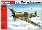 AZ model 1/72 カーチス モホークMk.3/H-75 RAF/フランス プラモデル AZM7572