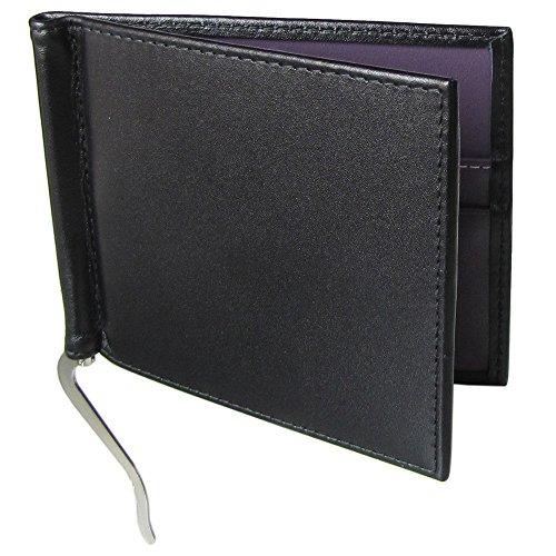 エッティンガー 財布 メンズ 二つ折り 札入れ マネークリップ メンズ ロイヤルコレクション ST787AJR BLACK ブラック【並行輸入品】