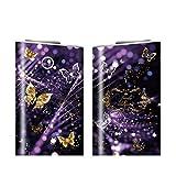 グローシール glo グロー シール glo グロー専用 スキンシール 電子タバコ ステッカー Lovely & Gorgeous コレクション 03 スパークゴールド 22-gl0322