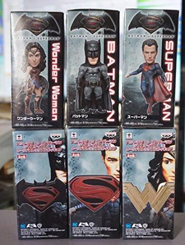 バットマン vs スーパーマン ジャスティスの誕生 ワールドコレクタブルフィギュア 全6種