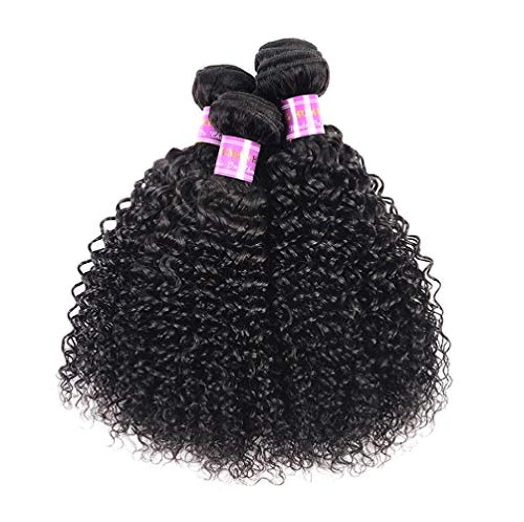 連結するフォローお酒ブラジルの毛3の束10Aブラジルボディ波のバージンの毛100%未処理1B色の二重よこ糸の人間の毛髪延長
