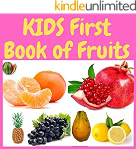KIDS First Book of Fruits (Picture Books) (English Edition)