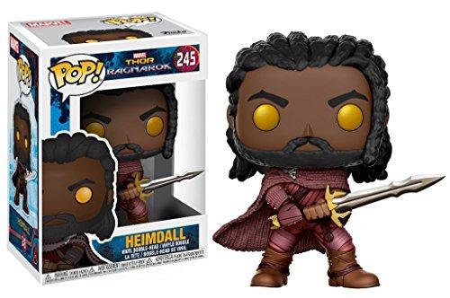 Marvel(マーベル) Thor: Ragnarok(マイティ・ソー/バトルロイヤル) Heimdall(ヘイムダル) FUNKO/ファンコ POP MARVEL VINYL ボブルヘッド [並行輸入品]