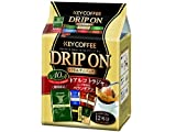 キーコーヒー ドリップオン バラエティパック (8g×12P)×3個