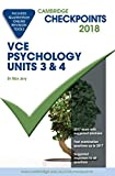 Cover of Cambridge Checkpoints VCE Psychology Units 3 and 4 2018 and Quiz Me More
