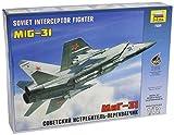 ズベズダ 1/72 ソビエト軍 MiG-31迎撃戦闘機 プラモデル ZV7229