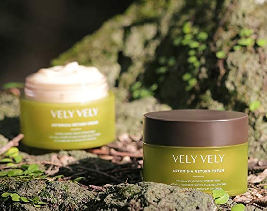 VELY VELY ARTEMISIA RETURN CREAM 50ML アルテミシアリターンクリーム 韓国の人気商品 Korean Beauty Cosmetics Womens