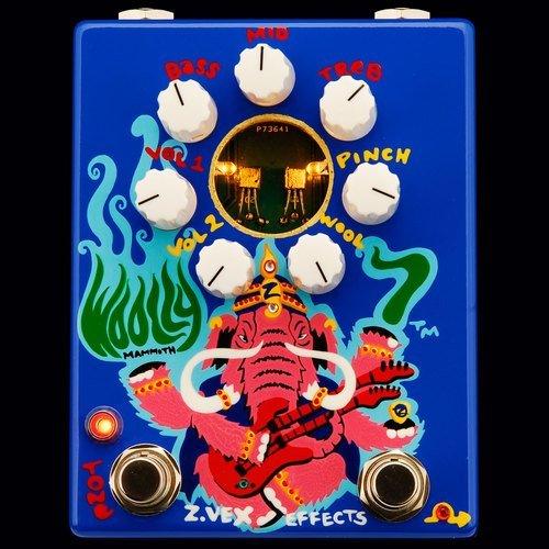 Z.Vex Woolly mammoth 7 ジーベックス ウーリー マンモス ギター ベース ファズ エフェクター zvex z vex [並行輸入品]