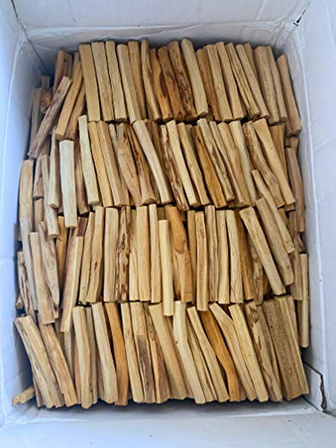 精神連帯強制的Palo Santo Holy Wood Incense Sticks 2 Lbサイズバッグ