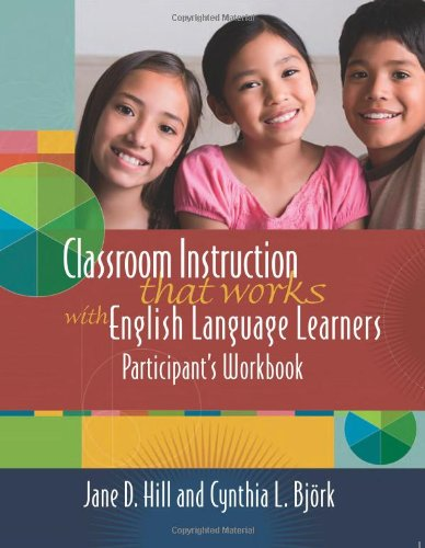 Download Classroom Instruction That Works With English Language Learners: Participant's Workbook 141660698X