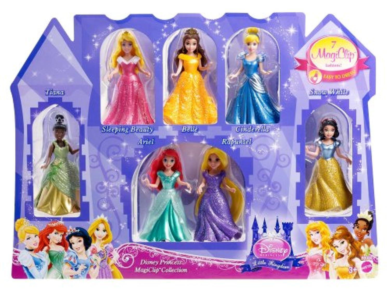 Disney Princess Little Kingdom Magiclip 7-Doll Giftset [並行輸入品]
